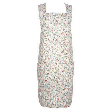 GreenGate Keuken schort / 2 Pockets Apron Vivianne white