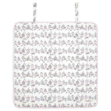 GreenGate Baby changing mat square Ellison pale pink