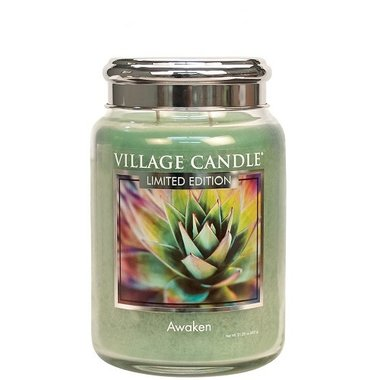 Village Candle Limited Edition Awaken Spa Collection 737gr Large Candle