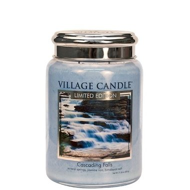 Village Candle Limited Edition Cascading Falls  737gr Large Candle