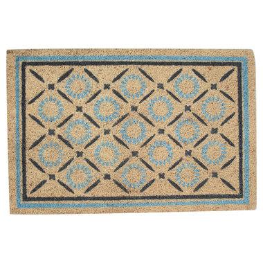 GreenGate Deurmat / Doormat Alva white 40x60cm