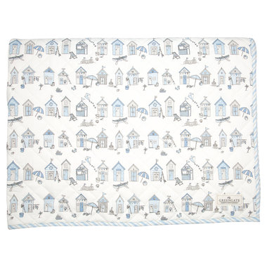 GreenGate Baby Speelkleed / Kids bed cover Ellison Pale Blue 120x120cm