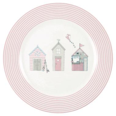 GreenGate Kinder Bord / Kids Plate Ellison Pale Pink D:20,5cm