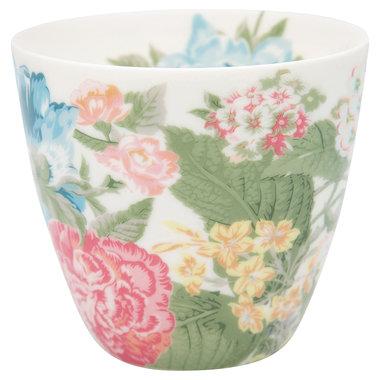 GreenGate Mokje / Latte cup Adele White H: 9cm