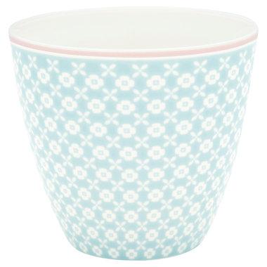 GreenGate Mokje / Latte cup Helle Pale Blue H: 9cm