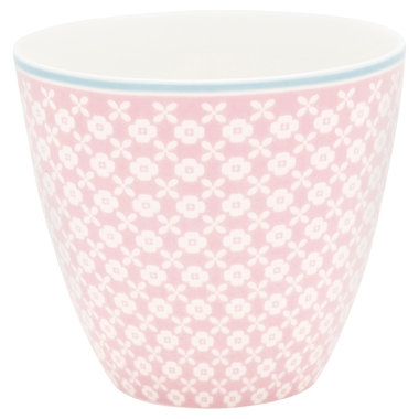 GreenGate Mokje / Latte cup Helle Pale Pink H: 9cm
