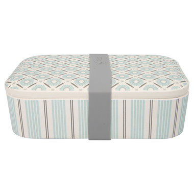 GreenGate Bamboo Lunch box Nicoline Beige 6,5x12,8x19,6cm