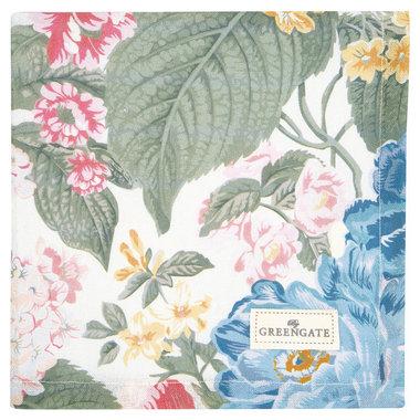 GreenGate Servet / Napkin Adele White 40x40cm