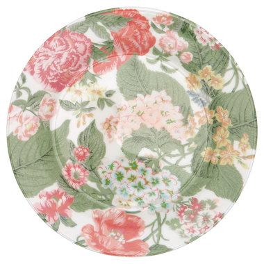 GreenGate Ontbijtbord / Plate Adele White D:20,5cm