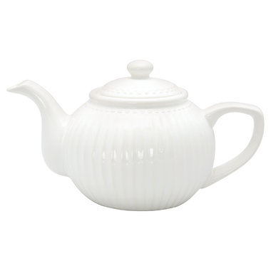GreenGate Everyday Alice Theepot / Teapot White
