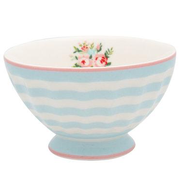 GreenGate Cereal Schaaltje / French bowl medium Nellie Pale Blue D:10cm