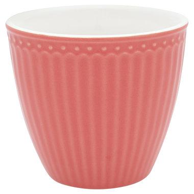 GreenGate Mokje / Latte Cup Alice Coral H:9cm