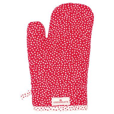 GreenGate Oven Handschoen Dot Red