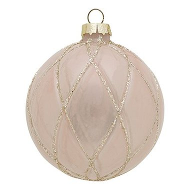GreenGate Ball glass Penelope nude w/gold