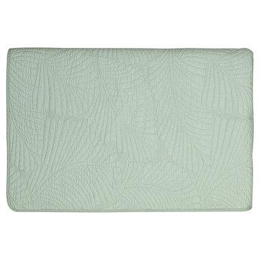 GreenGate Quilted Bed cover Maggie pale green 140x220cm