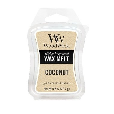 Coconut WoodWick®  Mini Wax Melt