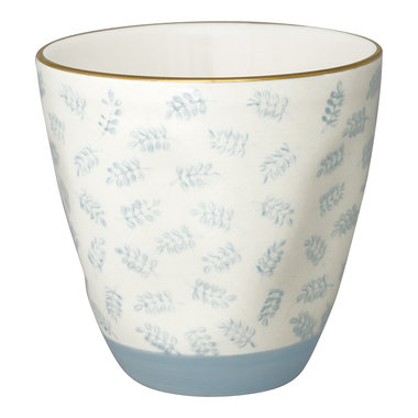 GreenGate Cup Lianna pale blue w/gold H: 8,7cm