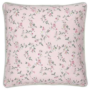 GreenGate Cushion Cover Jolie pale pink 40x40cm