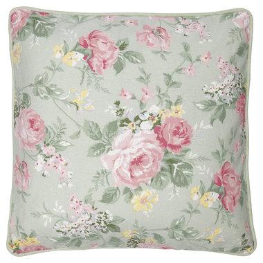 GreenGate Cushion Cover Josephine pale mint 40x40cm