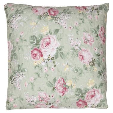 GreenGate Cushion Cover Josephine pale mint 50x50cm