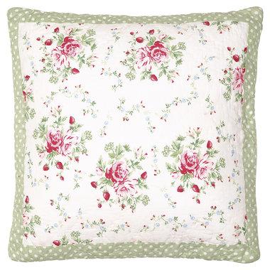GreenGate Cushion Cover Mary white 50x50cm