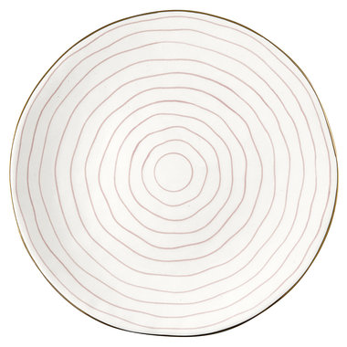 GreenGate Dinner plate Sally pale pink D: 25,3 cm
