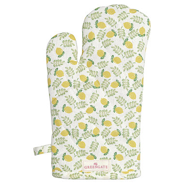 GreenGate Grill glove Limona Petit White