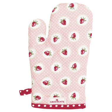 GreenGate Grill glove Strawberry Pale Pink