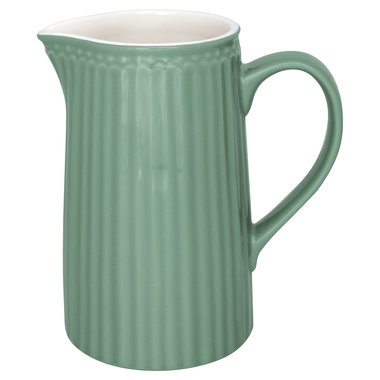GreenGate Everyday Alice Jug Alice dusty green 1L