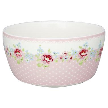 GreenGate Kids bowl Meryl pale pink D:12cm