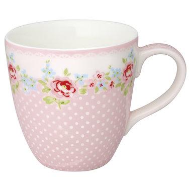 GreenGate Kids mug Meryl pale pink H: 8cm