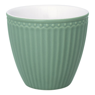 GreenGate Everyday Alice Latte cup Alice dusty green