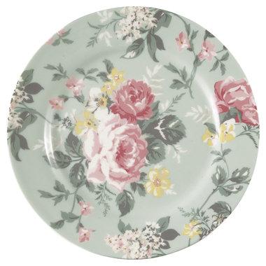 GreenGate Plate Josephine pale mint D:20,5cm