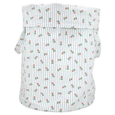 GreenGate Cotton Storage bag Lily petit white xlarge H:60cm