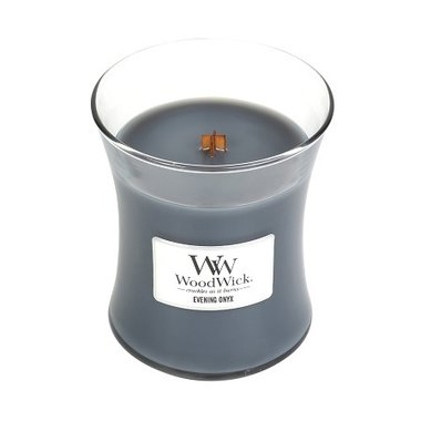 Evening Onyx Medium WoodWick® HearthWick®