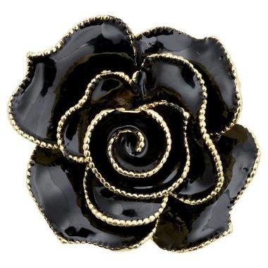 Gate Noir Brooch decoration black GN D:5cm