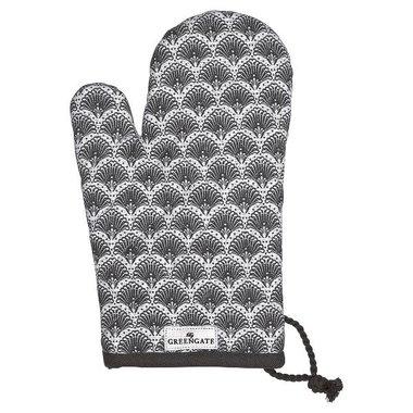 Gate Noir Grill glove Elvina grey GN