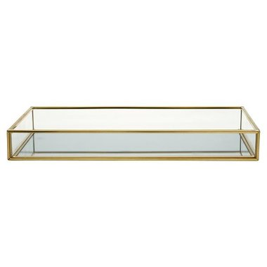 Gate Noir Mirror tray gold small GN