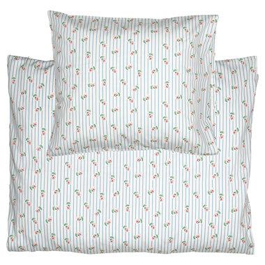 GreenGate Baby bed linen set Lily petit white 70x100cm