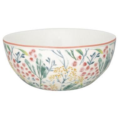 GreenGate Cereal bowl Megan white D: 14cm