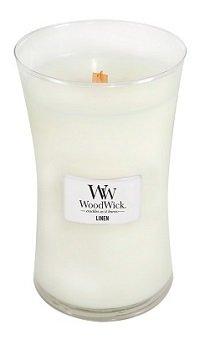 Linen Geurkaars Large WoodWick® HearthWick®