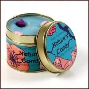 Bomb Cosmetics Geurkaars Natures Candy Tinned Candle