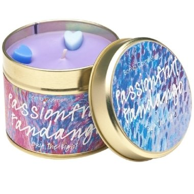 Bomb Cosmetics Geurkaars Passionfruit Fandango Tinned Candle