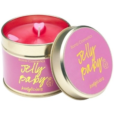 Bomb Cosmetics Geurkaars Jelly Baby Tinned Candle