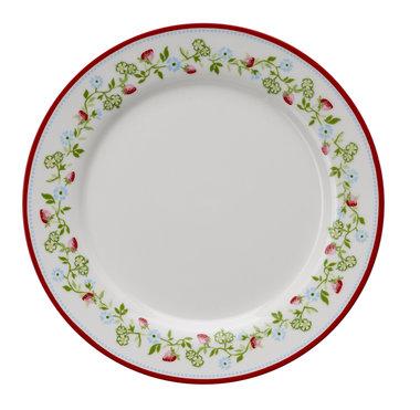 GreenGate Stoneware Gloria White Plate Limited Edition D: 20,5cm