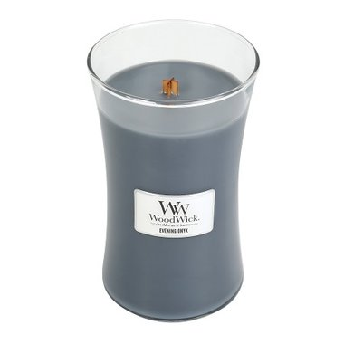 WoodWick® HearthWick® Evening Onyx Large Candle