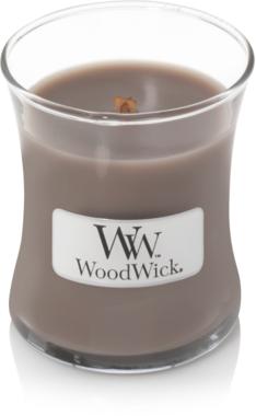 WoodWick® HearthWick® Black Amber & Citrus Geurkaars Mini