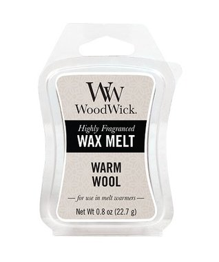 WoodWick® Warm Wool  Mini Wax Melt