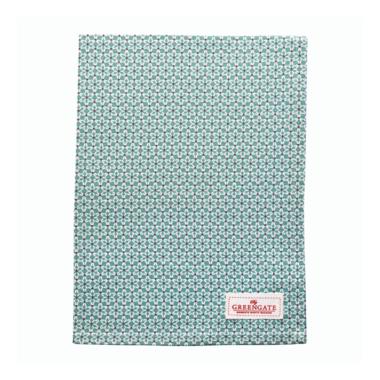 GreenGate Theedoek / Tea towel Juno green 50x70cm