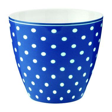 GreenGate Mokje / Latte cup Spot blue H: 9cm